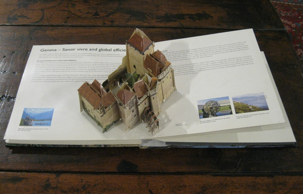 SWITZERLAND. The movable Book
