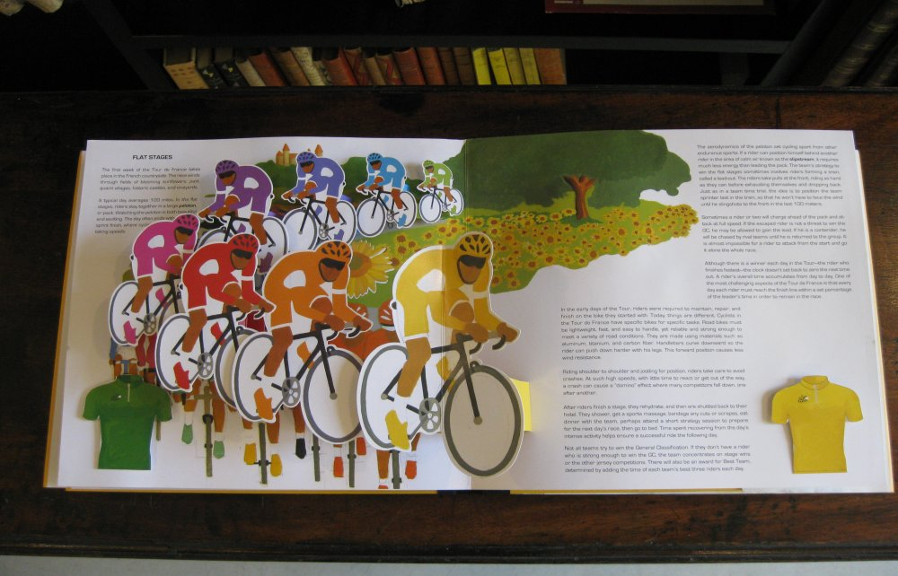 PAMELA PEASE. Pop-Up Tour de France. The Worlds Greatest Bike Race